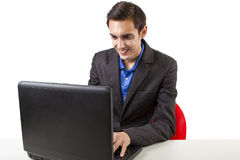 Browsing the internet Royalty Free Stock Photos