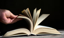 Browsing Pages. Pages, books, diaries, all on paper sheets Royalty Free Stock Photos