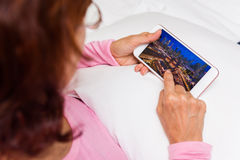 Free Browsing Photos On Phone Stock Photography - 67406652