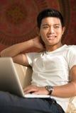 Browsing web Stock Image