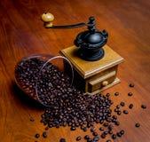 Broyeur de café élégante Photo stock