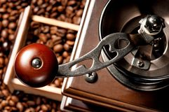 Broyeur de café Photo stock
