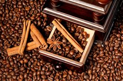 Broyeur de café Image stock