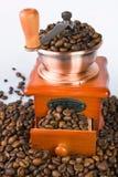 Broyeur de café démodée Photos stock