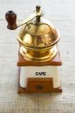 Broyeur de café de vintage Images libres de droits