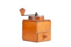 Broyeur de café de vintage/moulin à café image libre de droits
