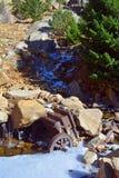 Broyeur de minerai universel de rouillement antique de roche Photo stock