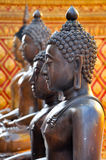 Brozne Buddha statue Stock Photos