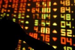 Börse-Verzweiflung Lizenzfreie Stockfotografie