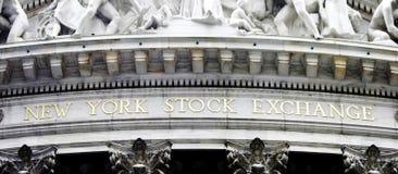 Börse von New York Lizenzfreie Stockfotografie