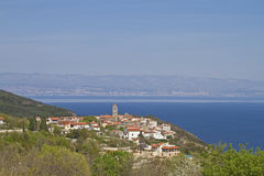 Brsec in Croatia Royalty Free Stock Photo