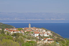 Brsec in Croatia Royalty Free Stock Photography