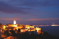 Brsec by night, Croatia Royalty Free Stock Photography