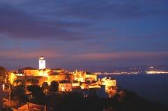 Brsec by night, Croatia Royalty Free Stock Photography