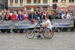 Brüssel-Marathon Lizenzfreies Stockfoto