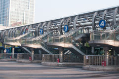 BRT bus station Royalty Free Stock Photos