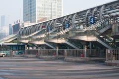 BRT bus station Stock Photos