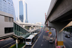 BRT station,Chengdu Royalty Free Stock Images