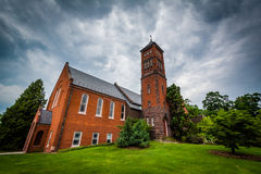 Brua Hall, on the campus of Gettysburg College, in Gettysburg, P Stock Photo