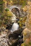 Bruar vattenfall royaltyfri fotografi