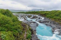 Bruarfoss Iceland Royalty Free Stock Images