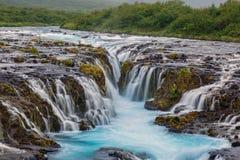Bruarfoss Iceland Royalty Free Stock Photo