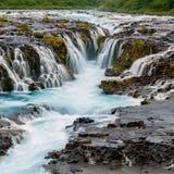 Bruarfoss Iceland Stock Image