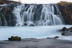 Bruarfoss waterfall, Iceland Royalty Free Stock Photo