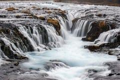 Bruarfoss waterfall, Iceland Royalty Free Stock Image