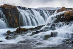 Bruarfoss waterfall, Iceland Stock Photos