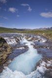 Bruarfoss waterfall Stock Photography