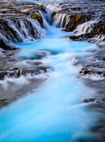 Bruarfoss waterfall, Reykjavik, Iceland Royalty Free Stock Photo