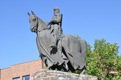 bruce ιππικό άγαλμα Robert Στοκ φωτογραφία με δικαίωμα ελεύθερης χρήσης