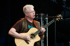 bruce καναδικός λαϊκός τραγουδιστής cockburn Στοκ Εικόνες
