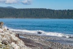 Bruce Bay, Nueva Zelanda Imágenes de archivo libres de regalías