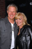 Bruce Boxleitner,Cindy Morgan. Bruce Boxleitner and Cindy Morgan  at the TRON Legacy & MySpace Comi-Tron Party, Flynn's Arcade, San Diego, CA 07-23-10 Royalty Free Stock Image