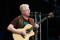 Bruce Cockburn, cantante di piega canadese Immagini Stock