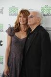 Bruce Dern et Laura Dern images libres de droits