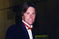 Bruce Jenner circa 1990 Stock Photo