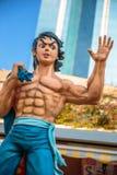 Bruce Lee aleja Komiczne gwiazdy Obrazy Stock