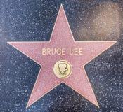 Bruce Lee gwiazda Obrazy Stock