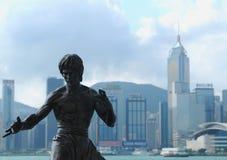 Bruce Lee - Hongkong stock foto