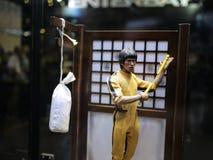Bruce Lee i LEKSAKANDA 2015 Arkivbild