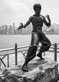 Bruce Lee statue , Hong Kong. Stock Images
