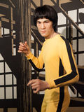 Bruce Lee wax statue. At the famous Madame Tussaud's museum in Bangkok, Thailand stock photos