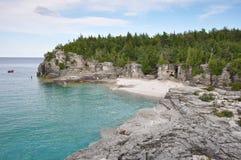 Bruce Peninsula dans l'heure d'été, Ontario, Canada photos libres de droits