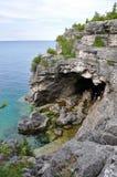 Bruce Peninsula dans l'heure d'été, Ontario, Canada photos stock