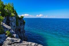 Bruce Peninsula National Park de Canadá imagem de stock royalty free