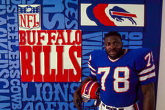 Bruce Smith, Buffalo Bills Stock Image