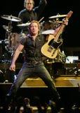 Bruce Springsteen e seu E Street Band executam imagens de stock royalty free